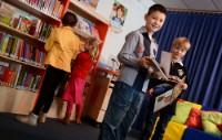Bekijk details van De Bibliotheek op school na opengaan scholen